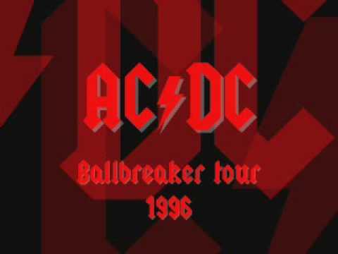 AC/DC - Thunderstruck - Live [Glasgow 1996]