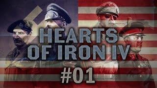 Hearts of Iron IV #01 TRUMP Millennium Dawn Mod - Let's Play