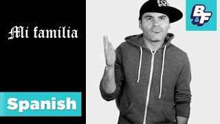 Learn family members in Spanish with BASHO & FRIENDS [Viewer's Choice]