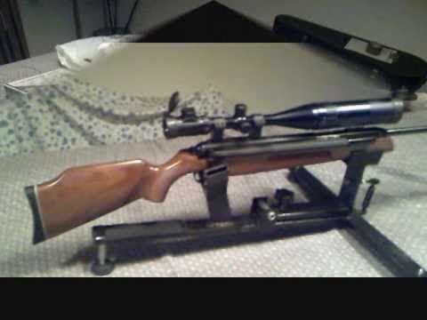 Airgun Diana 54  4.5 airking.wmv