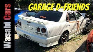 Garage D-Friends: Initial D Era - AE86, S13, S14, S15, R33, R34, etc...