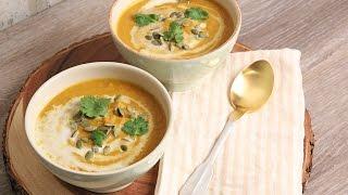 Curry Coconut Pumpkin Soup Recipe | Episode 1114