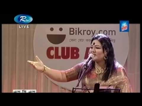 BANGLA MUSICAL | MOMTAZ SINGS FOLKS - LIVE SHOW