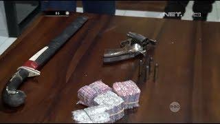 Ditemukan Senjata Tajam dan Senjata Api Pada Mobil Residivis Narkoba