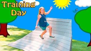 PLAY DATE Assistant Fun Training Day at the Park Ourdoor Fun Exercise and Running Video