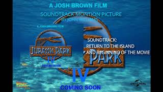 """Jurassic Park IV"" Soundtrack by John Williams (Return to the island and Beginning of the movie)."
