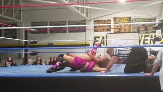 Wrestling for Autism Center Ring Diva's Championship Match(3)
