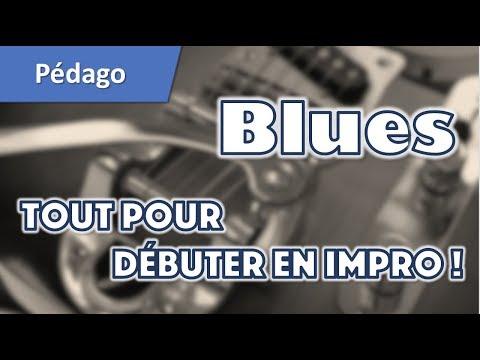 Tuto blues débutant : improviser avec la pentatonique à la guitare