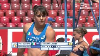 Campionati Europei di Zurigo - Qualificazioni Asta Donne Sonia Malavisi