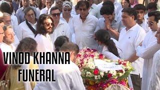 Vinod Khanna's Funeral Full Video | R.I.P