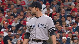 NYY@CLE Gm5: Robertson tosses scoreless relief outing