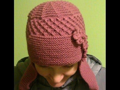 Вязание шапочек-мастер класс