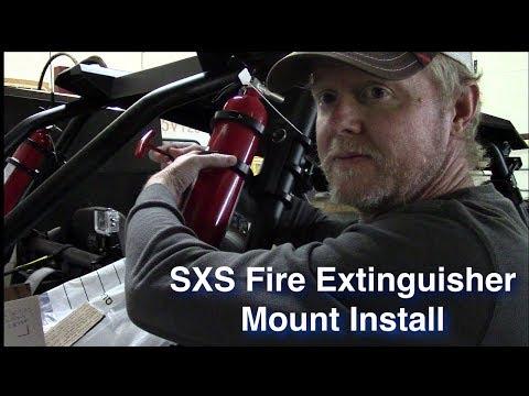 Xxx Mp4 SXS Fire Extinguisher Mount Install 3gp Sex