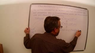 TIRO PARABÓLICO CLASICO DE EXAMEN  //Una física simplificada