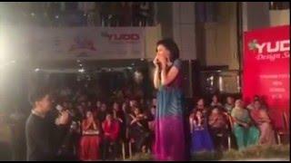 Salman Propose Sabila Nur in Public