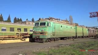 Passenger Trains of Georgia 2017 საქართველოს რკინიგზა