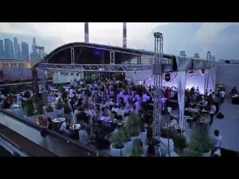 Night club Showreel from octocopter board on Canon 5D Mark III (multicopter.ru)