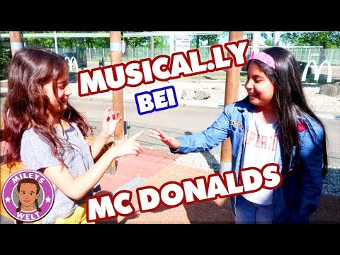MUSICAL.LY bei McDONALDS Treffen mit Freundin Mileys Welt