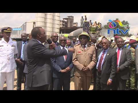 Xxx Mp4 Uhuru Takes Huduma Namba Campaign To Construction Workers 3gp Sex