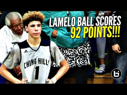 Xxx Mp4 LaMelo Ball Scores 92 POINTS 41 In The 4th Quarter FULL Highlights Chino Hills Vs Los Osos 3gp Sex