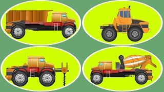 Transformer | Drilling Machine | Dumpster | Cement Mixer