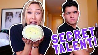 SUPER SECRET SPECIAL TALENT!