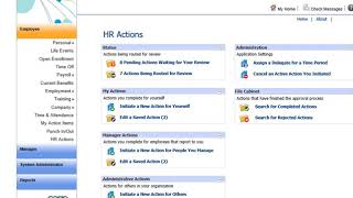 Sage HRMS HR Actions Sneak Peek Demo
