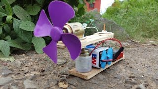 Make a Mini Table Fan Auto rotation at home