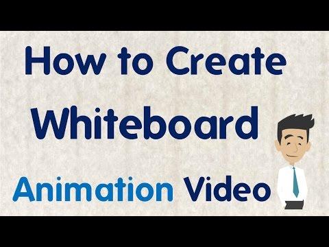 [Hindi/Urdu] How to Create  Whiteboard Animation Videos