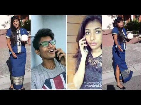 kalpana akka _AZLAHI 0RUTHI Song_Tamil girls Vs Boys Tamil Dubsmash