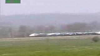 Worlds fastest Train: 574.8kmph.