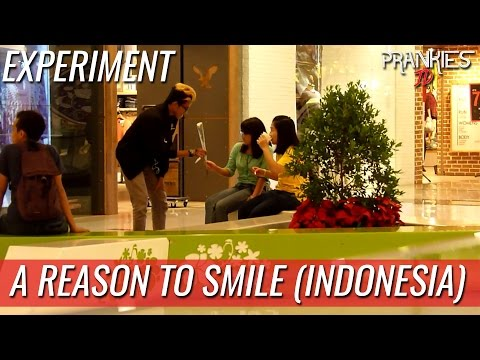 A REASON TO SMILE - Experiment #1