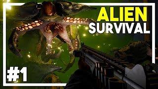 EARTH HAS FALLEN! - Alien Survival Game! - Earthfall Gameplay 2018 (Walkthrough Episode 1)