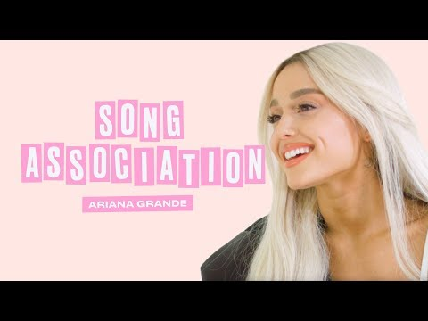 Xxx Mp4 Ariana Grande Premieres A New Song From Sweetener In A Game Of Song Association ELLE 3gp Sex
