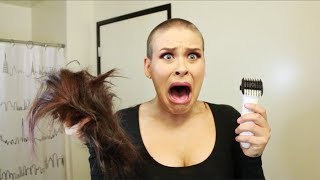 SHAVING MY HEAD
