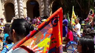 Kids Drum Corps in the Balboa Park Earth Day Parade