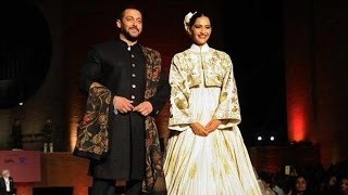 Salman Khan & Sonam Kapoor's Ramp Walk For Prem Ratan Dhan Payo