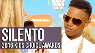 Silento Talks 'Watch Me (Whip/Nae Nae)' on 2016 Kids Choice Awards Orange Carpet