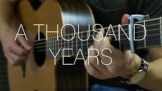 Christina Perri - A Thousand Years - Fingerstyle Guitar Cover