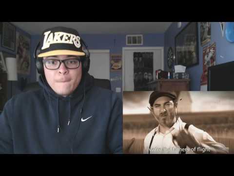Mario Bros vs Wright Bros. Epic Rap Battles of History REACTION!