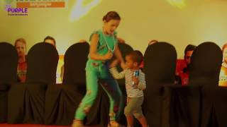 Sun Risers(SRH) Opener Shikar Dhawan Son Zoravar Dance performance | 2017 | IPL10