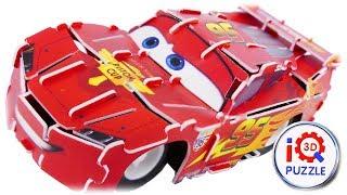 Cars Lightning McQueen 3D Puzzle