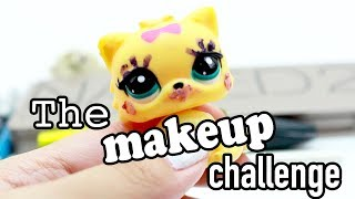 LPS - The Makeup Challenge! (Will it COME OFF?!)