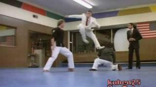 Van Damme Vs Karate master & Student