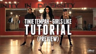 Dance Tutorial [Preview] - Girls Like - Tinie Tempah ft Zara Larsson - Eden Shabtai Choreography