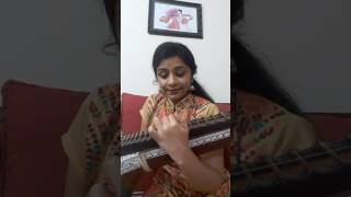 En jeevan song from Theri BY veena Srivani
