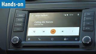 Android Auto Erklärvideo / Hands-on | deutsch / german