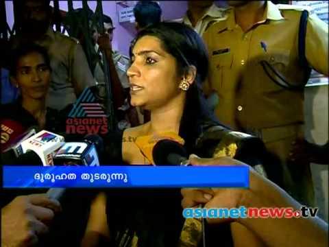 Saritha S Nair's car attacked സരിതയെ ആക്രമിച്ച സംഭവം