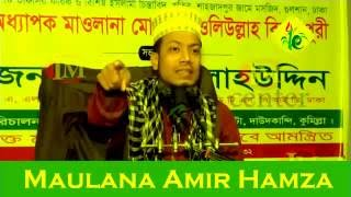 Maulana Amir Hamza Bangla Waz 2016