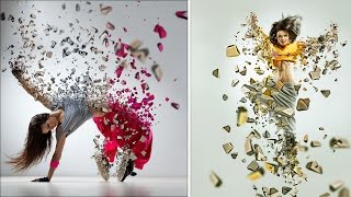 Photoshop Tutorial | 3d dispersion Effect Photoshop Actions | Tasty Tutorials